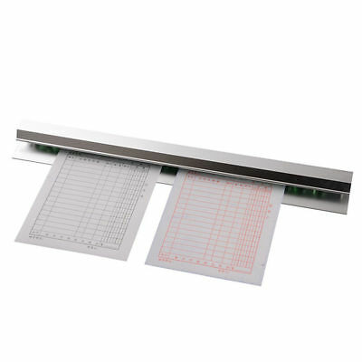 Docket Holder 600mm Stainless Steel Order Rack Invoice Check Paper Tab Ticket