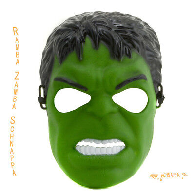 Avengers Hero Age of Ultron Hulk Maske NEU