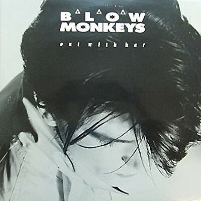 """Blow Monkeys, Out With Her - Greatest Hits, NEW Original UK double 12"""" single"""