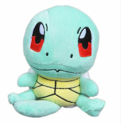 "6"" New SQUIRTLE Lovely Stuffed Plush Toy Doll figure Xmas Pocket Monster Pokemon"