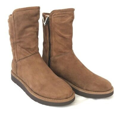 2f928475fb7 UGG ABREE CLASSIC Luxe Short Slim Premium Suede Lined Boots Made in Italy