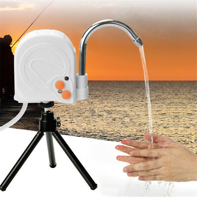 Portable Automatic Fishing Hand Wash Machine Water Pump With Tripod Stand Outdoo