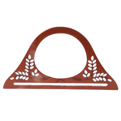 Wooden Purse Evening Party Handbag Bag Handle Holder for DIY Purse Making