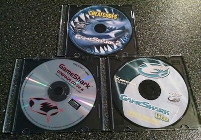 GameShark Playstation PS1 PS One Lot of 3