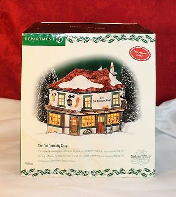 Dept 56, Dickens' Village Series, The Old Curiosity Shop, #56.58482, *new*