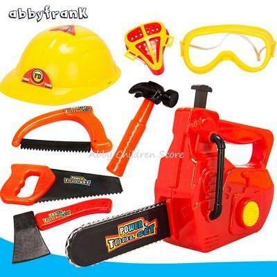 Simulation Repair Tool Toy Plastic Play House Toy Modeling Kid Tool Set Chainsaw