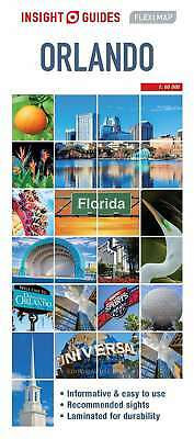 Insight Flexi Map: Orlando (Insight Flexi Maps), Guides, Insight, New Book