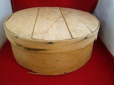 Dufeck - Vintage Cheese Wheel Box - Round 15""