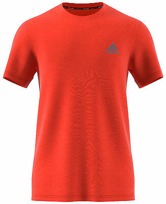 adidas Men's Energy Orange Climalite Essential Tech T-Shirt, Size XL, NEW