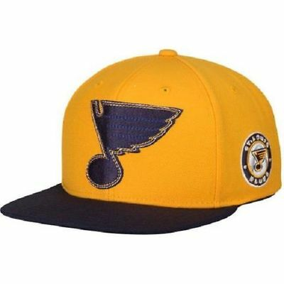 NHL St Louis Blues SnapBack OSFA Ice Hockey Cap Hat