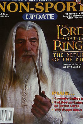 NSU Non Sport Update Magazine Lord of the Rings Cover vol 14 #6 2004