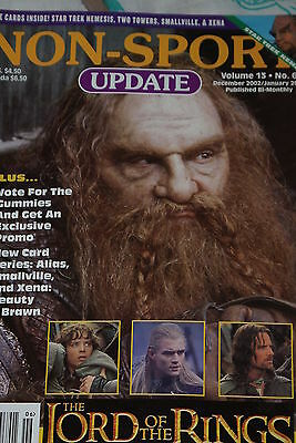NSU Non Sport Update Magazine Lord of the Rings TTT Volume 13 #6 2003