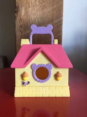 Hamtaro Hideaway House Carrying Case Toy Hamster Hut Playset Loose Hasbro