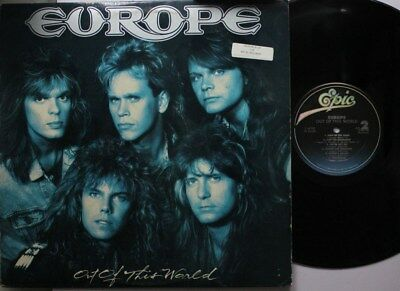 Rock Lp Europe Out Of This World On Epic