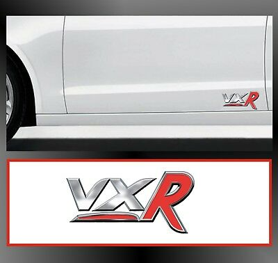 For VAUXHALL - 2 x `VXR` - CAR DECAL STICKER ADHESIVE - Corsa Astra  95 x 47mm