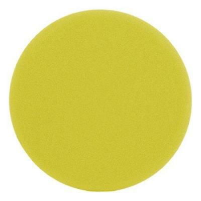 Automotive Mitts, Bonnets & Buffing Pads SM Arnold 44-106 6 Yellow Foam Cutting Buffing Pad for Dual Action Random Orbit