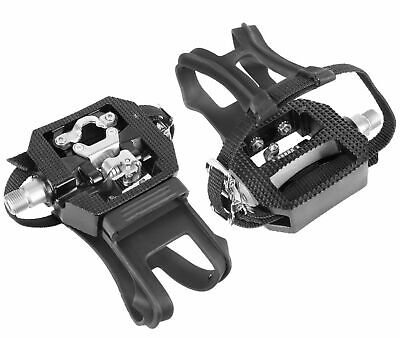 Wellgo E229 Shimano SPD Compatible Spin Bike Bicycle Pedals with Cleats