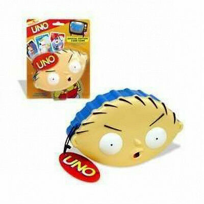 Family Guy Stewie Griffin Uno Set New Sealed