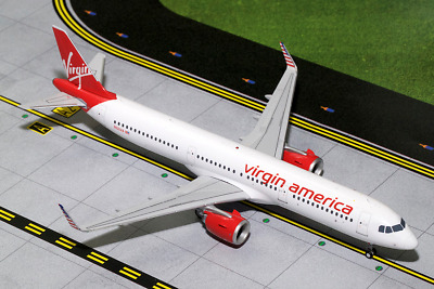 Gemini200 Airbus A321neo Virgin America N921VA (WITH STAND)