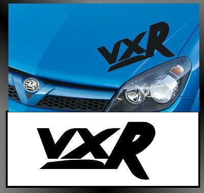 For VAUXHALL - VXR - CAR DECAL STICKER ADHESIVE - Corsa Astra Vectra  300mm long