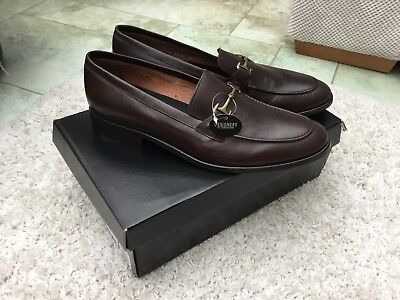 Smart pair of brown leather shoes size 12 by Jasper Conran