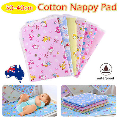 Baby Infant Waterproof Urine Mat Diaper Nappy Pad Changing Pad Cover Change Mat