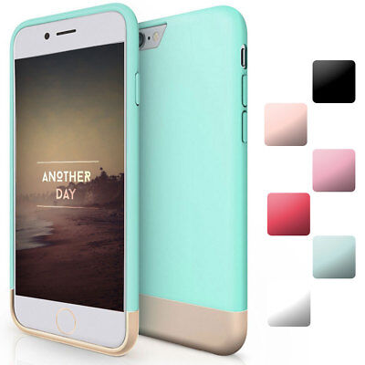 LUXUTY Hybrid Rugged Rubber TPU Protective Hard Cover Case For iPhone 6 S 7 Plus