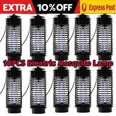 2/5/10PCS 220V Electric Mosquito、Fly、Bug、Insect Zapper Killer With Trap Lamp