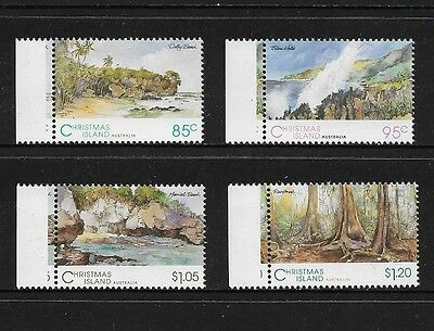 CHRISTMAS ISLAND - mint 1993 Scenic Views, No.3, set of 4, MNH MUH