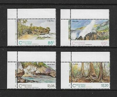 CHRISTMAS ISLAND - mint 1993 Scenic Views, No.4, set of 4, MNH MUH