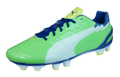 SCARPE CALCIO PUMA evo SPEED 1 FG greenblu Football boots