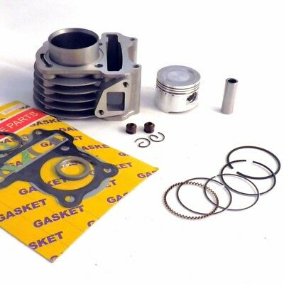 80CC Big Bore Performance Cylinder Kit For Scooters W/50cc QMB139 Motors