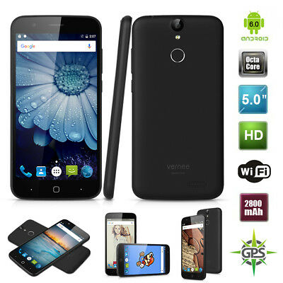 """5"""" Vernee Thor 4G Smartphone Android 6.0 OctaCore 3GB+16GB 13MP Fingerprint"""