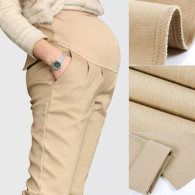 Women Nursing Prop Belly Legging Pregnancy Clothing Overalls Casual Trouser Pant