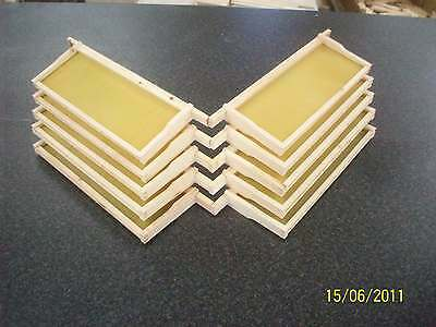10 Sn4 Built  Redwood Frames With Foundation, SECONDS.
