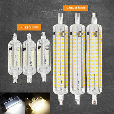 LED Floodlight Bulb Silicone R7S J118 J78 2835 SMD 10W 15W Replace Halogen Lamps