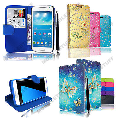 Luxury Leather Wallet Flip Stand Case Cover Pouch For Vodafone Smart N8 VFD 610