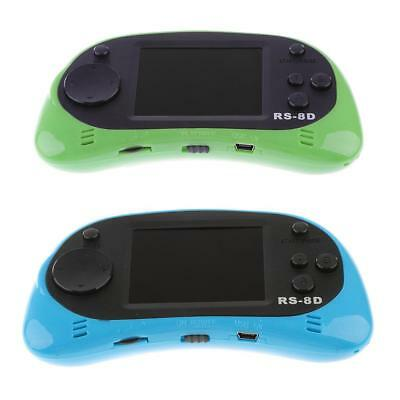 """2x RS8D 2.5"""" Handheld Video Game Player Console Built-in 260 Classic Game #1"""