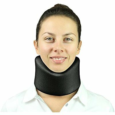 Neck Traction Equipment Brace By Vive Cervical Collar Adjustable Soft Support Be