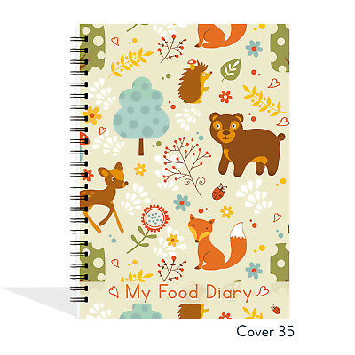 FOOD Diary Slimming World Compatible Diary Planner Tracker Log Book Journal B35