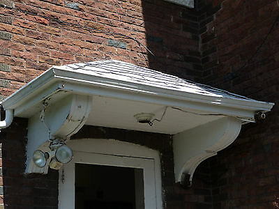 Antique Craftsman Style Porch Roof w/ Corbels - C. 1905 Architectural Salvage