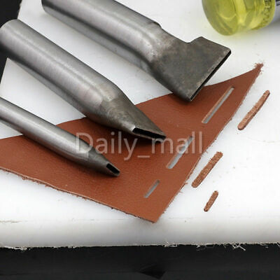 2mm Leather Craft Rectangle Punch Hole Tools Puncher Tool Strap Belt Square Hole