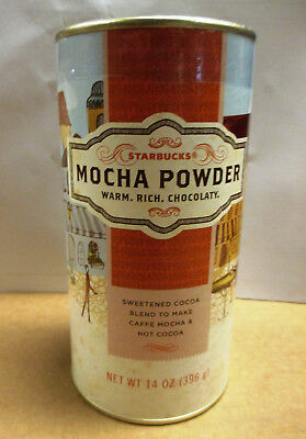 Starbucks Mocha Powder 14oz / 12-31-2017