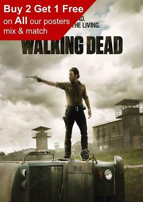 The Walking Dead Poster Print A5 A4 A3 A2 A1