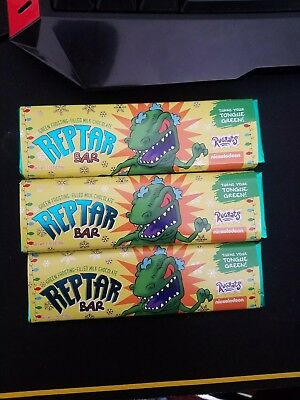 REPTAR BARS LOWEST PRICE In Hand to Ship NICKELODEON RUGRATS MILK CHOCOLATE BAR