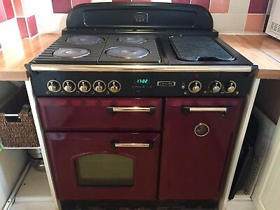 Leisure Gr6cvk 60 Cm Electric Kitchen Range 163 100 00