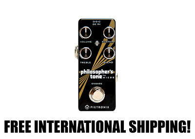 Pigtronix Philosopher's Tone Micro Compressor FREE INTERNATIONAL SHIPPING