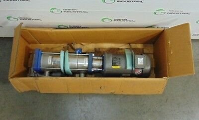 "NEW Goulds 3SVC1K5F0 Vertical Multistage Centrifugal Pump Assembly 7.5 HP 2""x2"""