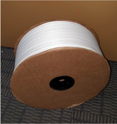 200 FT 3/4″ Woven Polyester Cord Strap NEW AVISTRAP PW60SH Strapping Bulk Roll