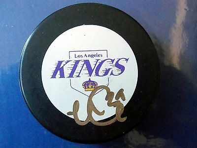 Noah Clarke, Belfast Giants/los Angeles Kings, Signed/auto'd Puck With Holder.